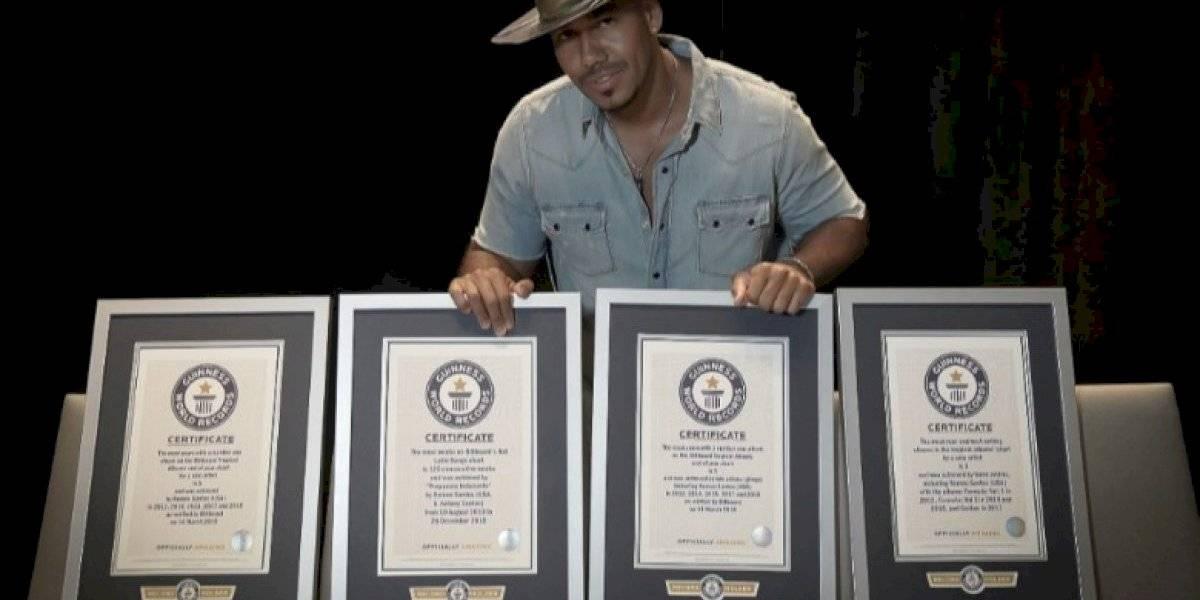 Romeo Santos entra al Guinness World Records