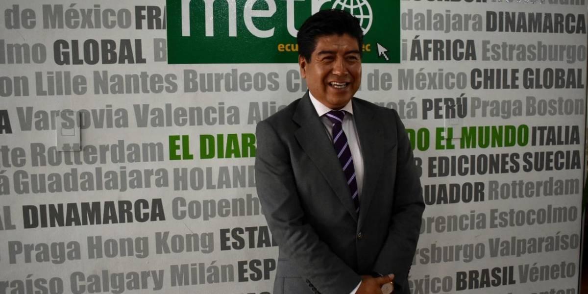 Alcalde Jorge Yunda hace un llamado para que retorne la paz a Quito