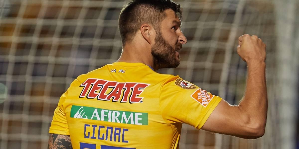 Gignac llega a 100 goles en Liga MX tras amarga anotación a Veracruz