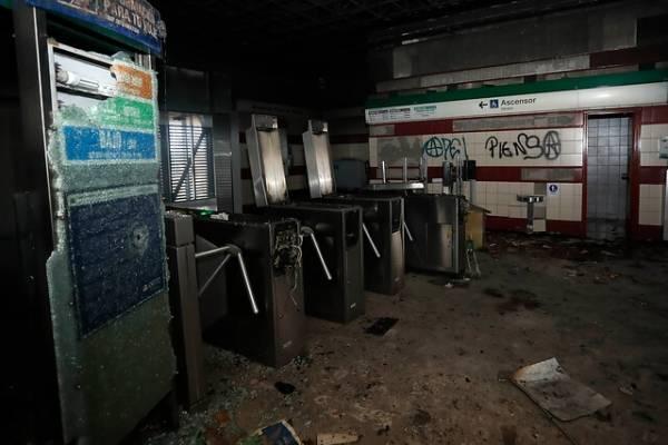 Absuelven a tío y a sobrino acusados de incendiar estación Pedrero del Metro