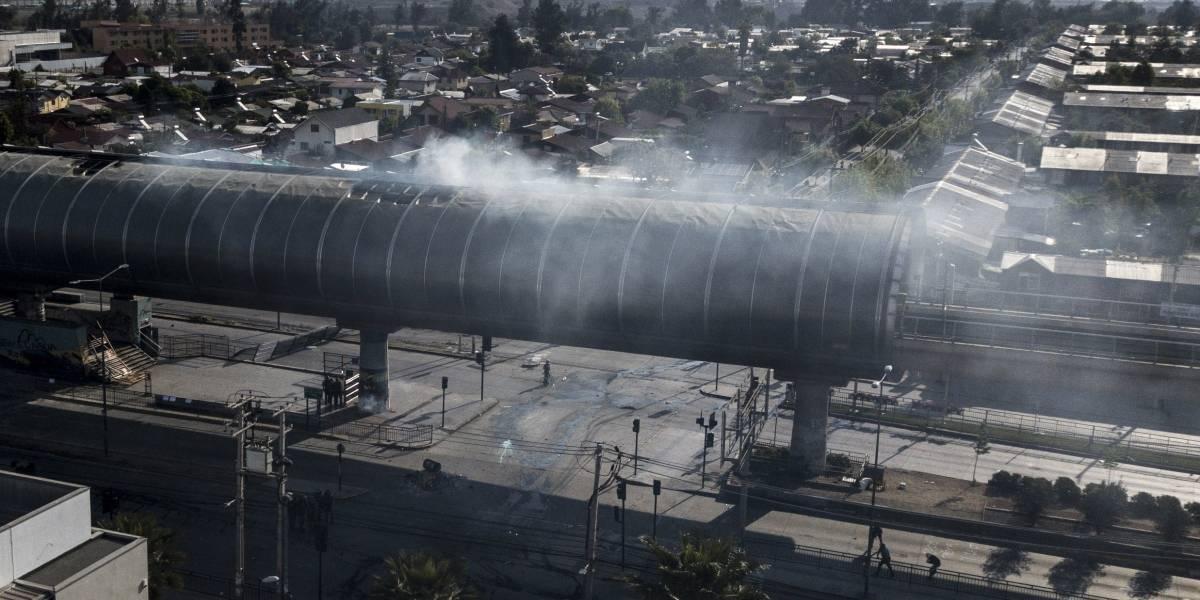 En total nueve de las 12 infraestructuras críticas Chile han sufrido ataques durante la crisis