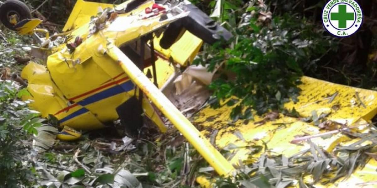 VIDEO. Un muerto y tres heridos deja accidente de avioneta salvadoreña