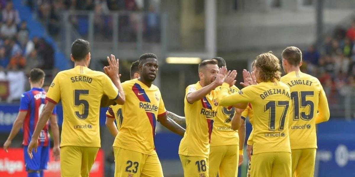 El Barcelona gana, gusta y golea en su visita a Éibar