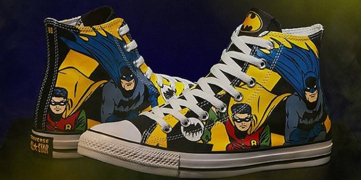 Converse lanza una colección de Batman por sus 80 años