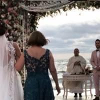 ¡Alucinante! Así festejaron Carmen Villalobos y Sebastián Caicedo su matrimonio