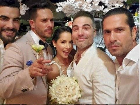Carmen Villalobos boda