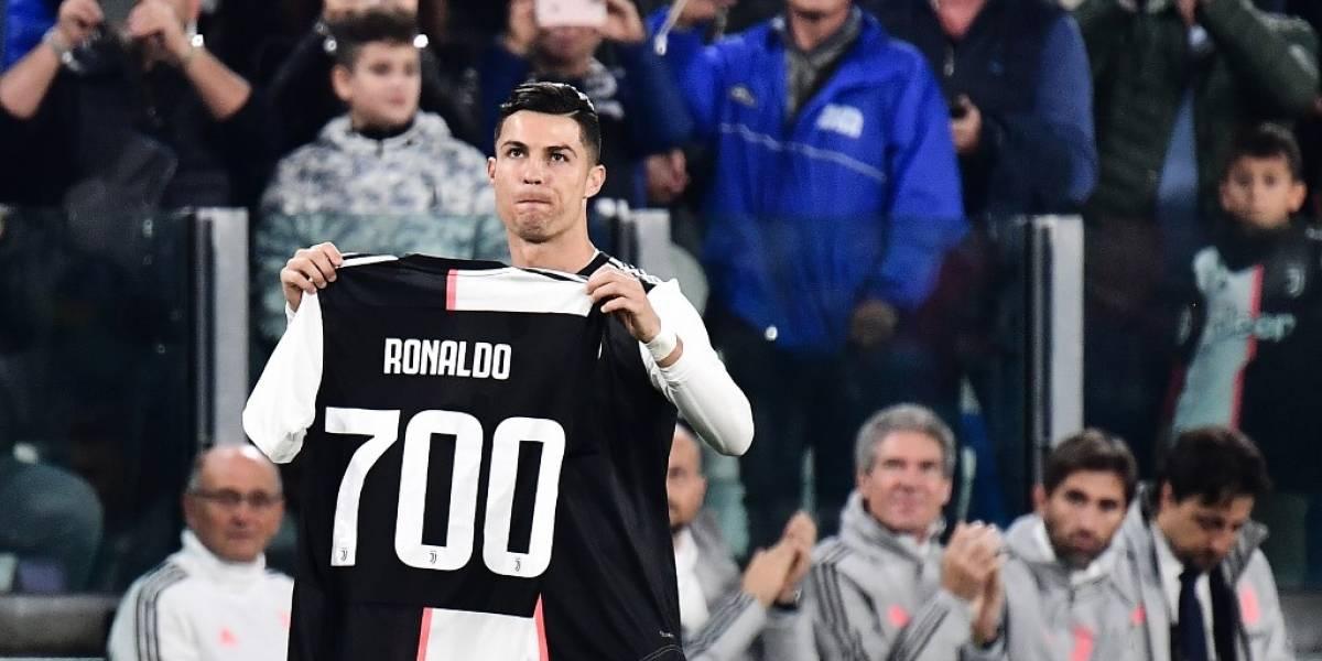 VIDEO. Cristiano recibe homenaje y anota un gol con la Juve