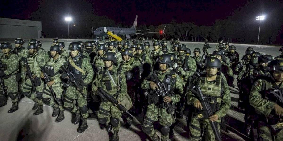 Sedena refuerza seguridad en Culiacán con 230 elementos de élite