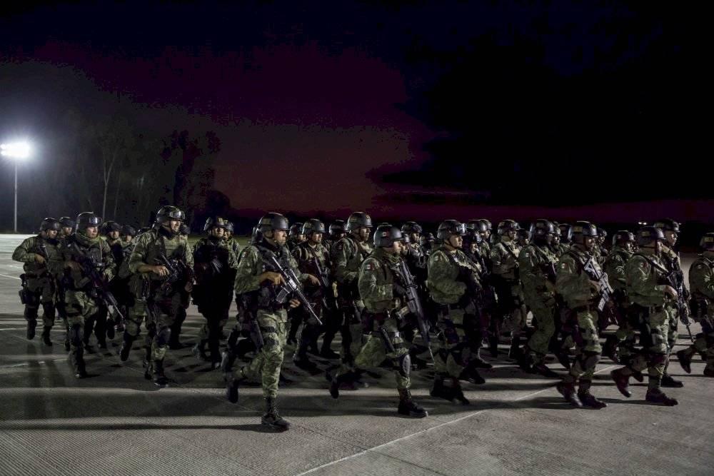 Cuerpo de Fuerzas Especiales a Culiacán