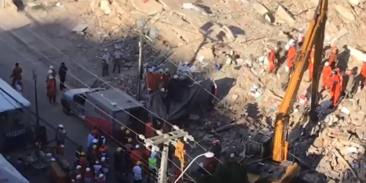 Corpo da 8ª vítima é encontrado nos escombros de prédio em Fortaleza