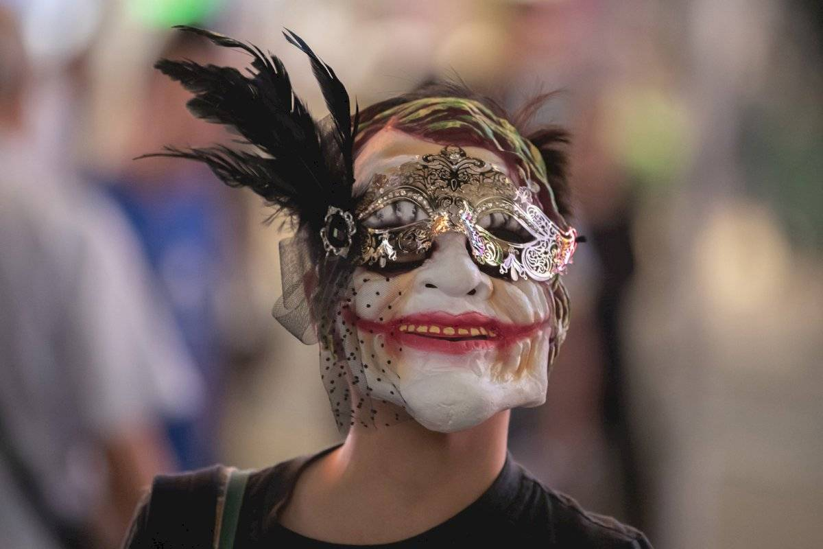 Máscaras utilizadas durante las protestas en Hong Kong