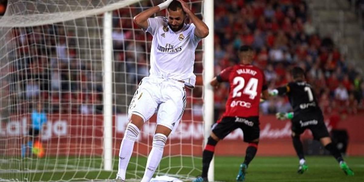 Real Madrid cae en Mallorca y pierde el liderato de la Liga
