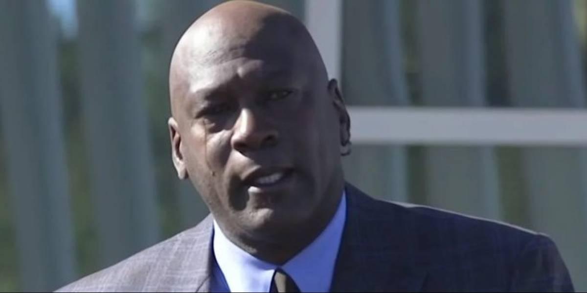 VIDEO. Las conmovedoras palabras de Michael Jordan al inaugurar un hospital