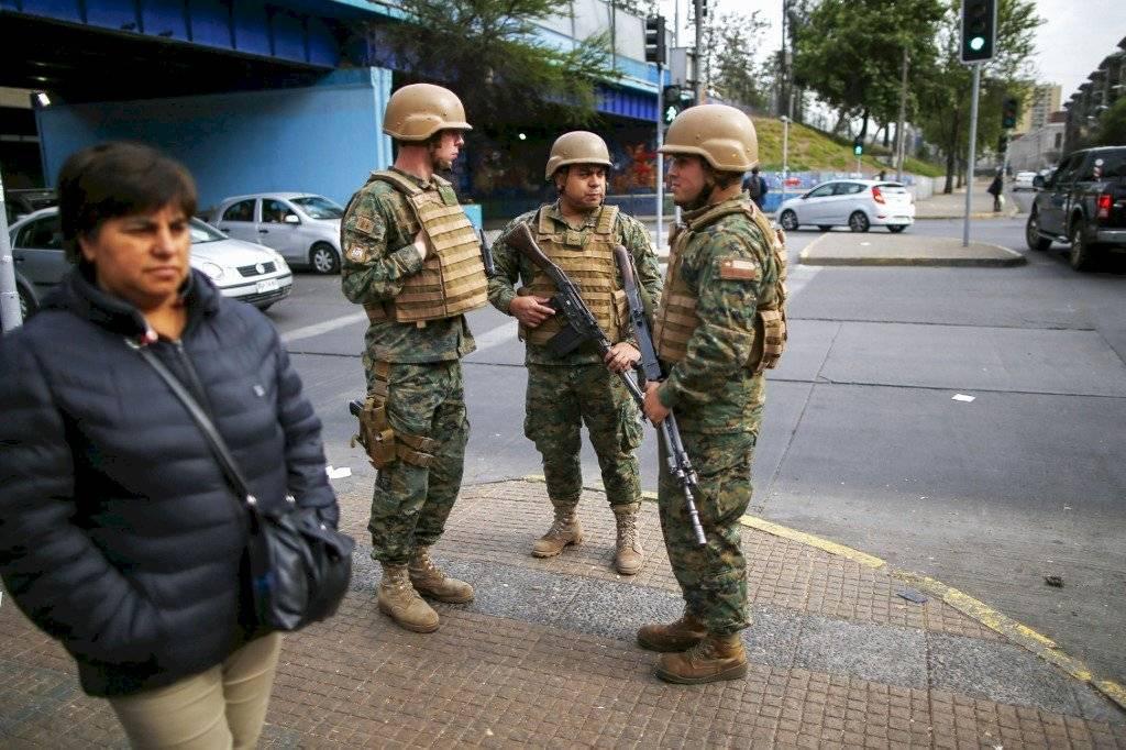 Intensas protestas en Chile AFP