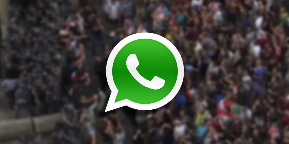 Líbano: Proponen impuestos a usuarios de WhatsApp y ciudadanos se manifiestan