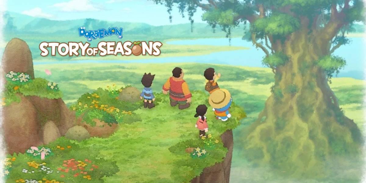 El gato de la granja: Review Doraemon Story of Seasons [FW Labs]