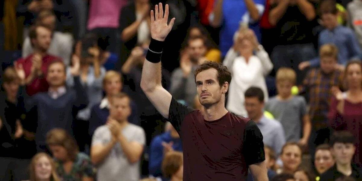 Andy Murray gana su primer torneo tras operación de cadera