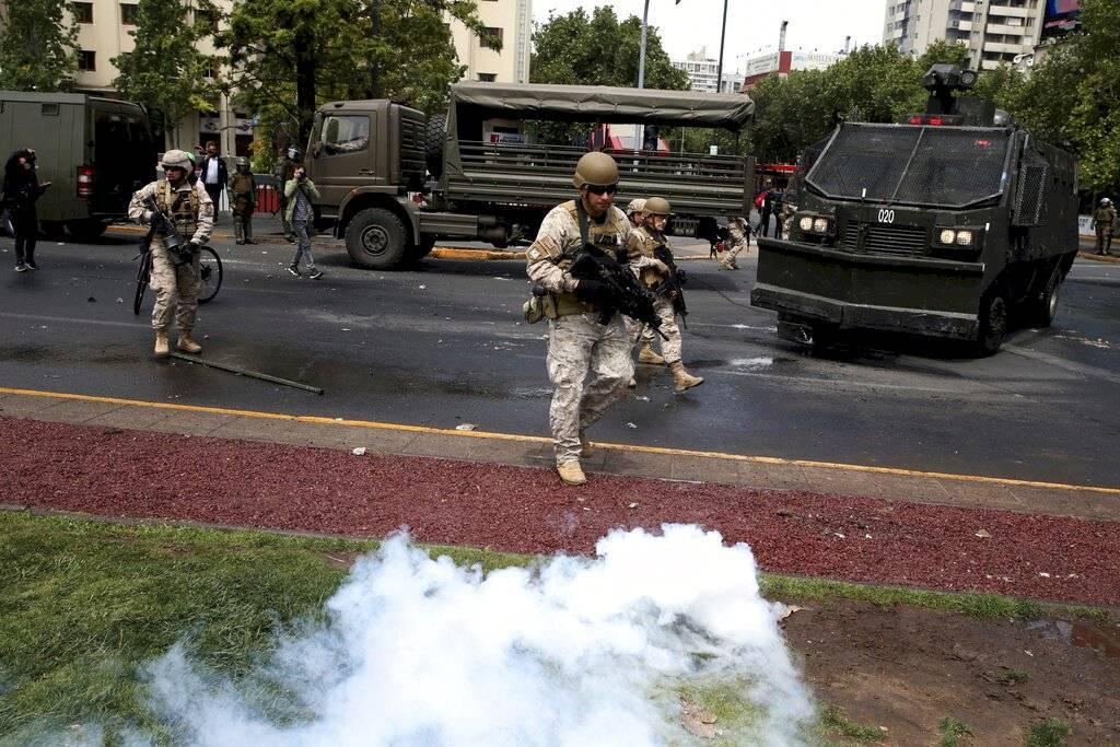 Militares en Chile