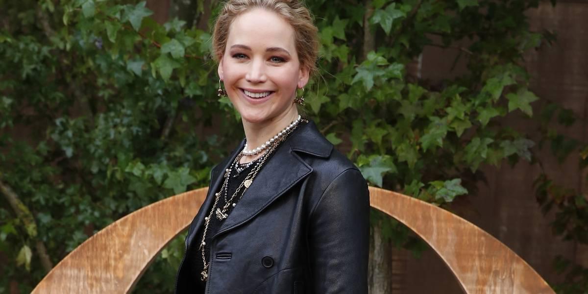 Jennifer Lawrence se casa con comerciante de arte