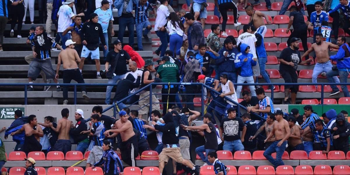 ¡La violencia no cesa! Suspenden el Atlético San Luis vs. Querétaro en México
