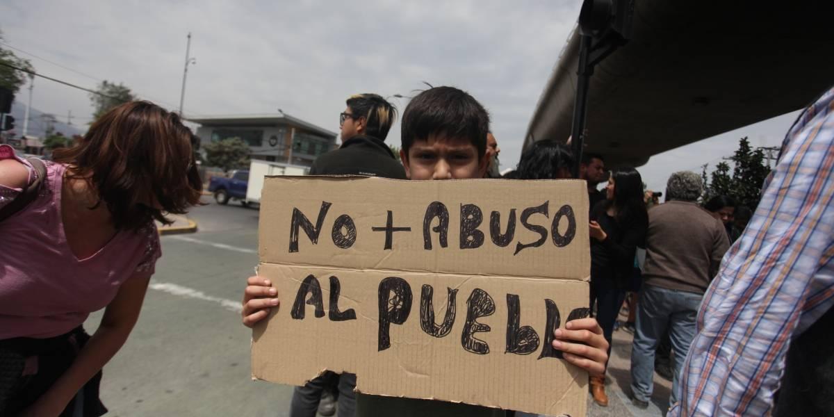 INDH anunció acciones legales por violencia policial en protestas en Chile