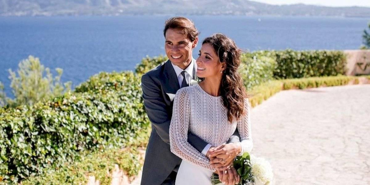 Rafael Nadal comparte las primeras fotos de su boda