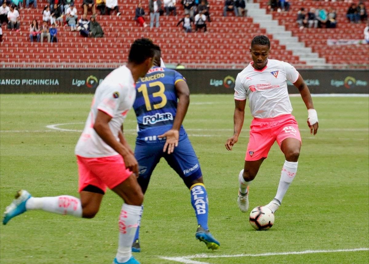 Liga de Quito vs Delfín: Los