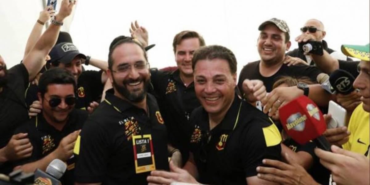 Carlos Alfaro Moreno es el nuevo presidente de Barcelona SC