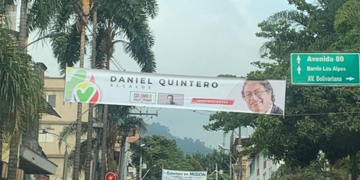 """Daniel Quintero denuncia """"campaña sucia"""" para la Alcaldía de Medellín"""