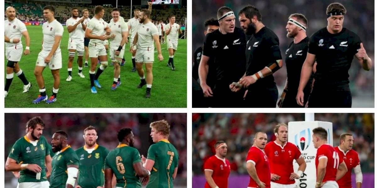 Mundial de Rugby 2019: ¿Quiénes, cuándo y a qué hora se juegan las semifinales?