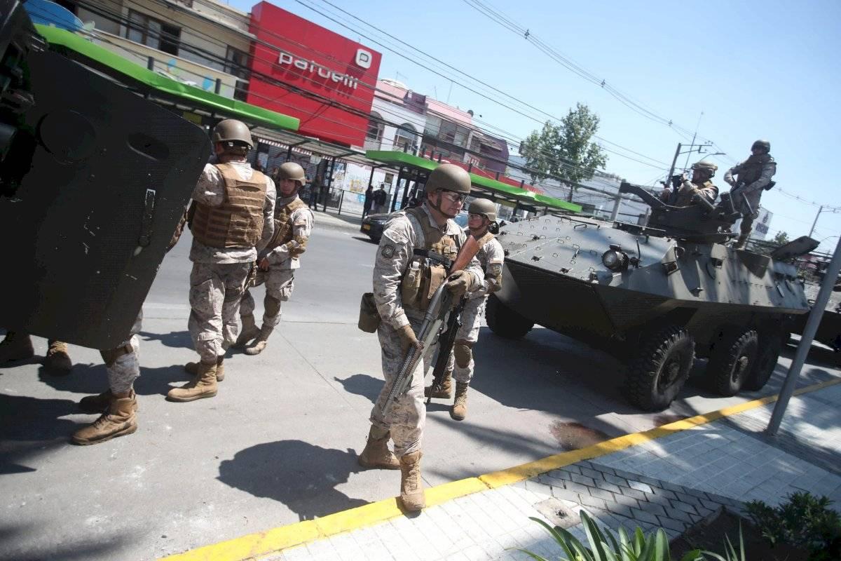 Santiago militarizado EFE