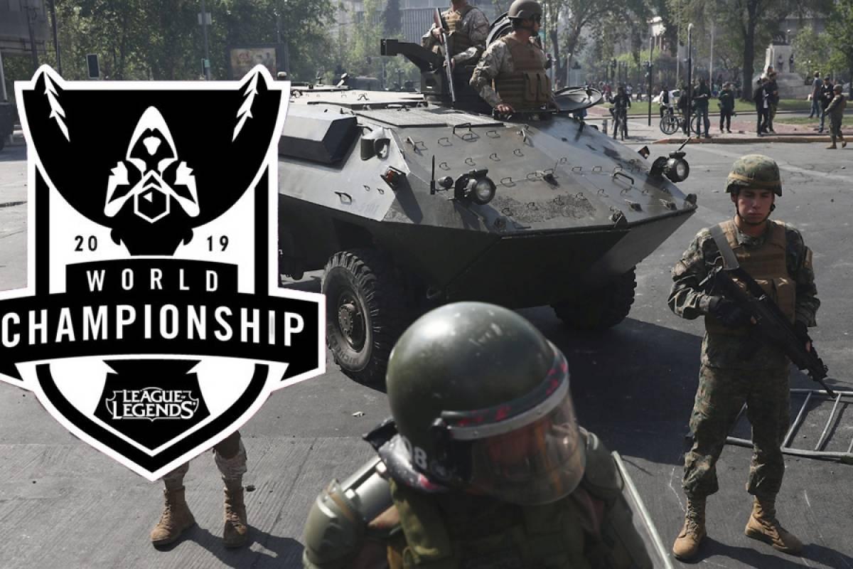 Hasta League of Legends: Riot Games Latinoamérica suspende la #Worlds2019 por Chile