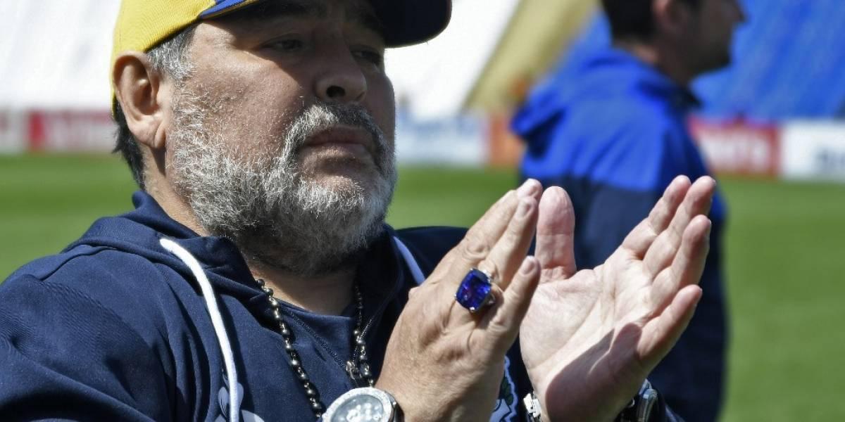 Diego Maradona confirma en sus redes que regresa a Gimnasia