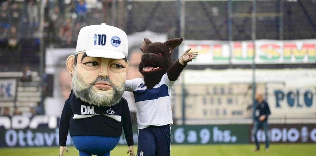 Mascota de Maradona Superliga argentina 2019