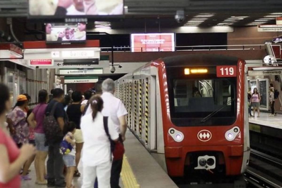 """Sindicato de Metro pide al Gobierno no abrir Línea 1: """"Si lo hacen llamamos a los trabajadores a no asistir"""""""