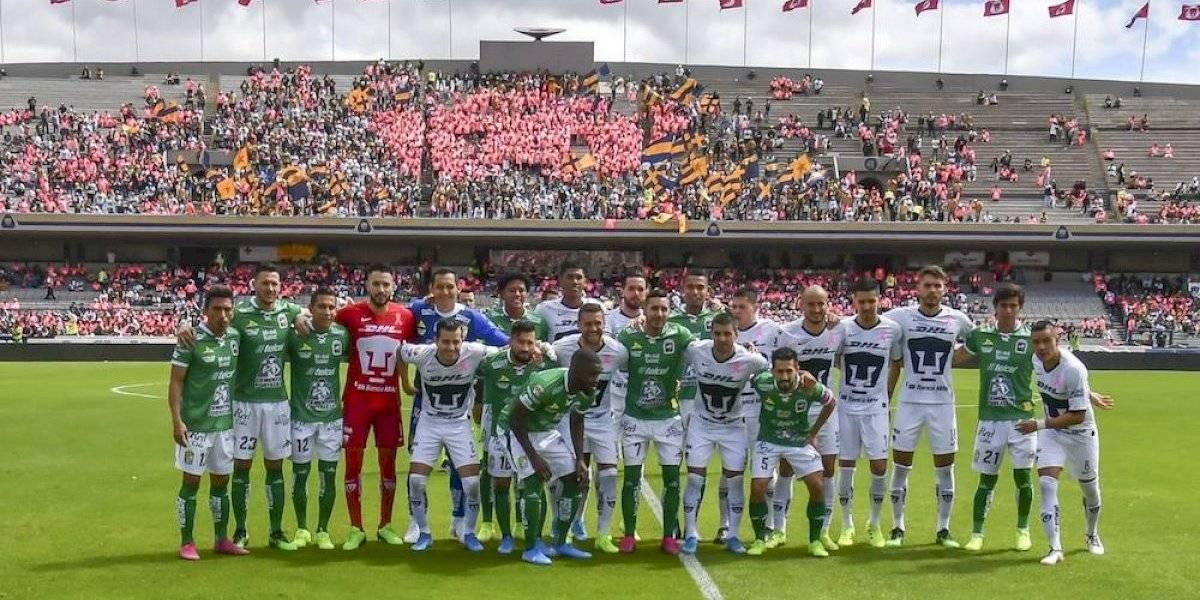 Pumas y León se solidarizan con el Veracruz