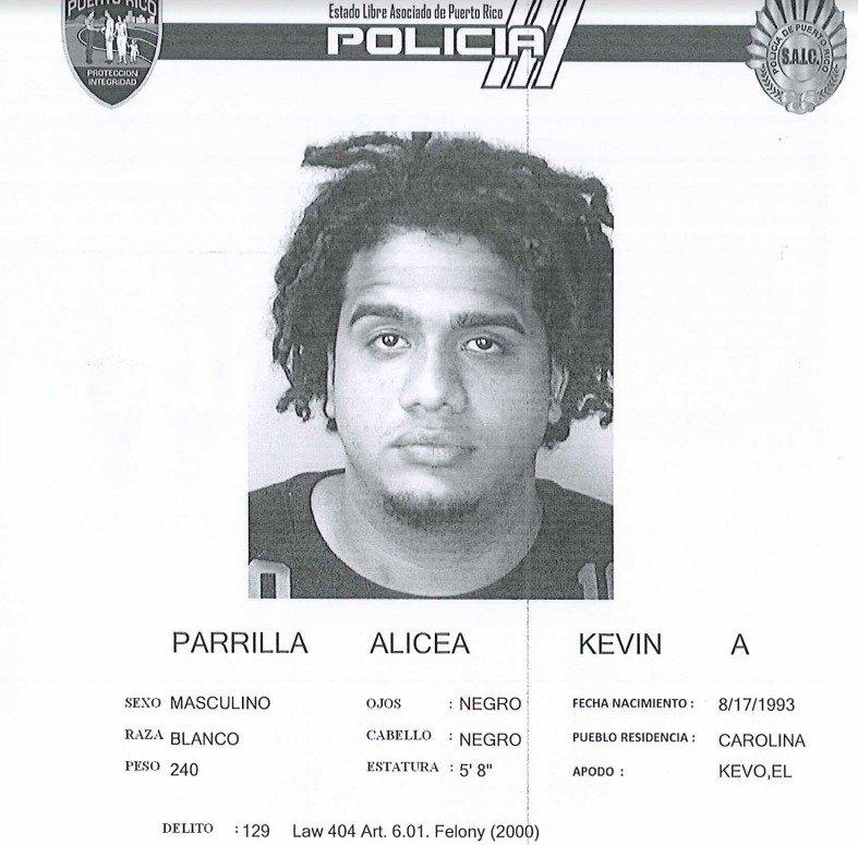 Kevin Alexis Parrilla Alicea - El Kevo