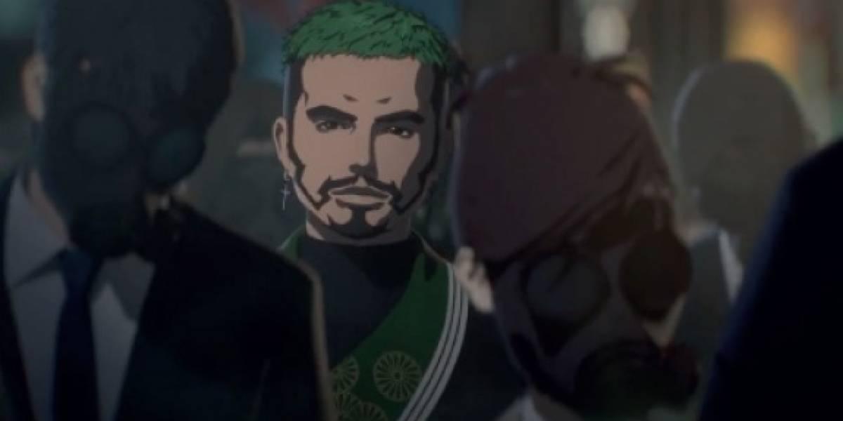 La música de J Balvin llega a la cinta de anime 'Human Lost'
