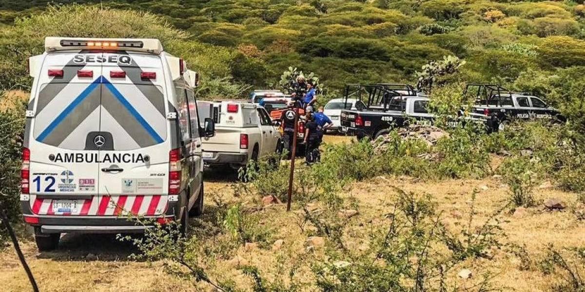 Caída de avioneta en Querétaro deja dos muertos