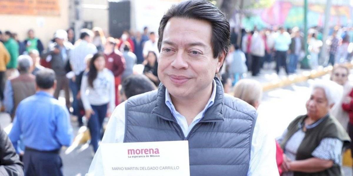 Mario Delgado llama a establecer reglas de encuesta para dirigencia de Morena