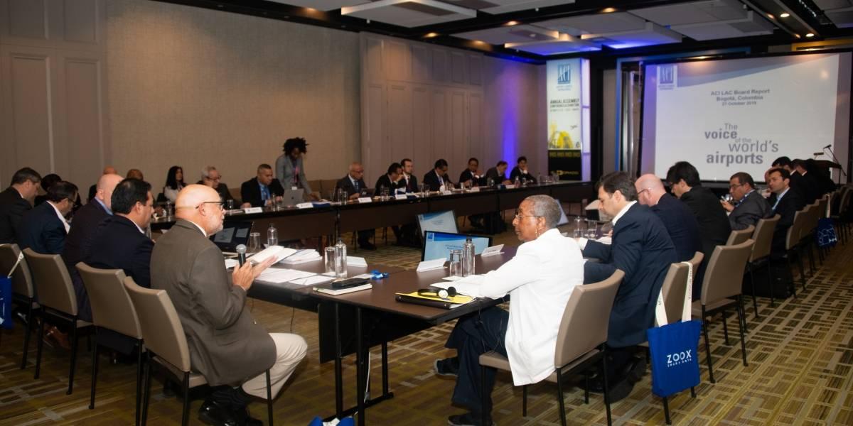 Consejo Internacional de Aeropuertos de América Latina y el Caribe se reúne en Bogotá