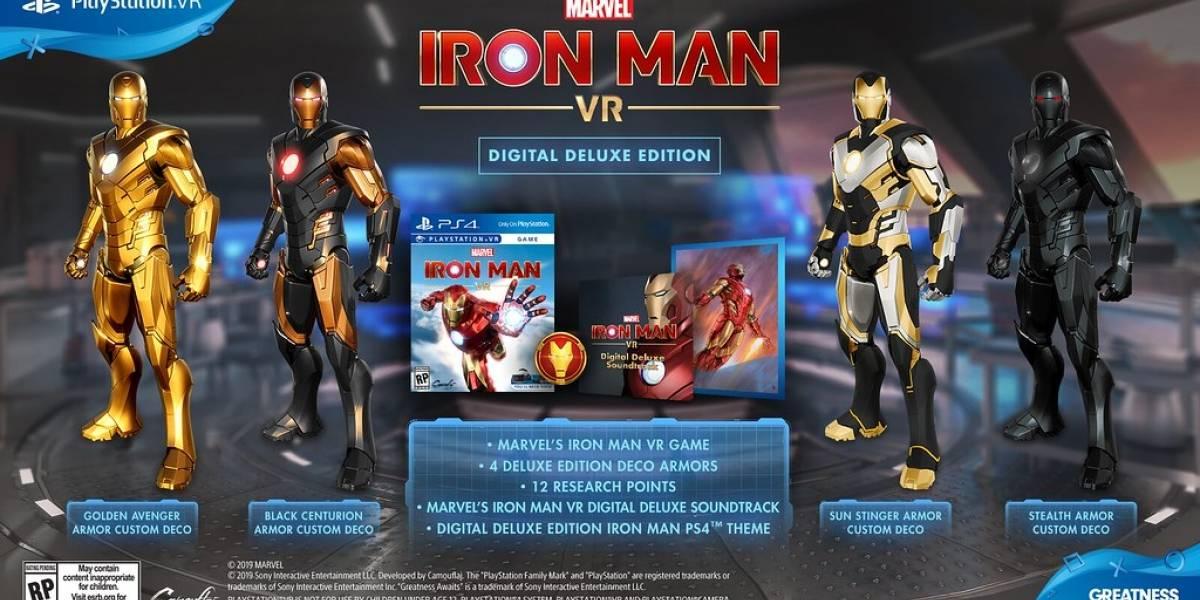 Marvel's Iron Man VR será lançado mundialmente em 28 de fevereiro de 2020