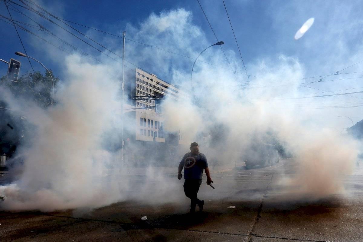 Protestas en Chile EFE