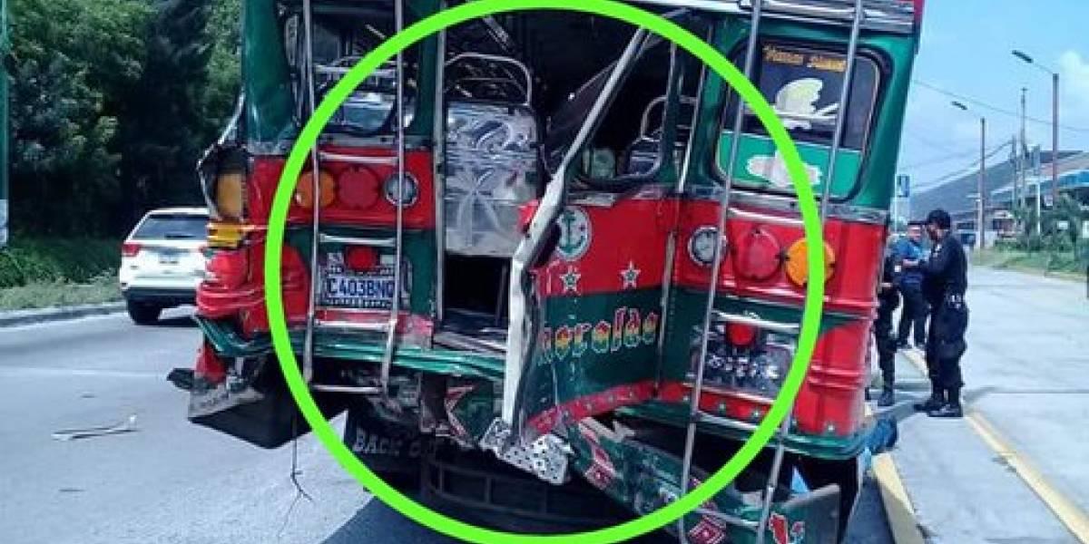 Accidente en la ruta al Pacífico entre autobús y tráiler deja un fallecido