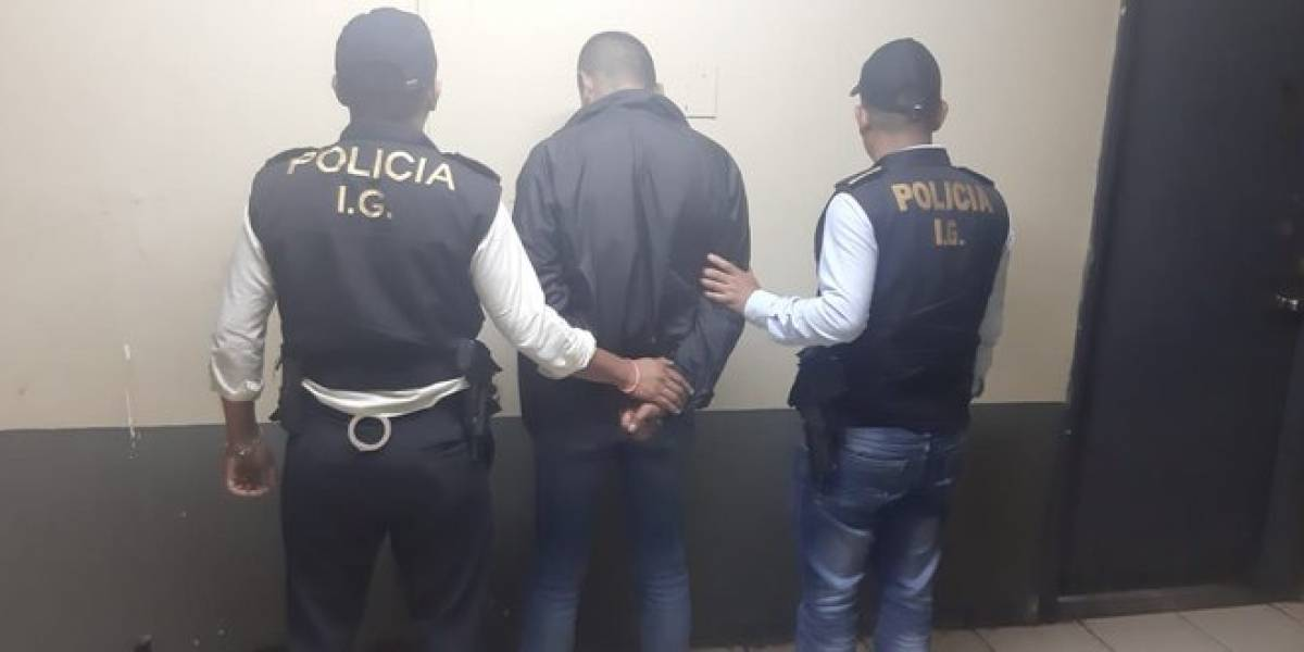 Capturan a agente de PNC señalado de agresión sexual