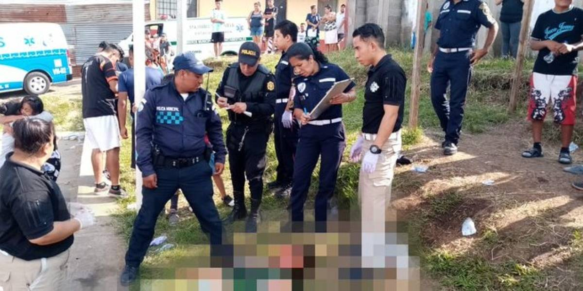 Asesinan a un hombre en cancha deportiva de Villa Nueva