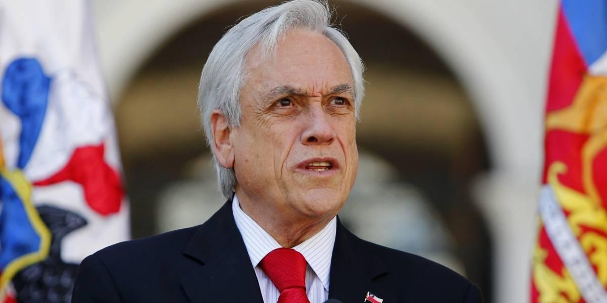 Presidente Piñera afirma que muchos videos con violaciones a DD.HH son falsos