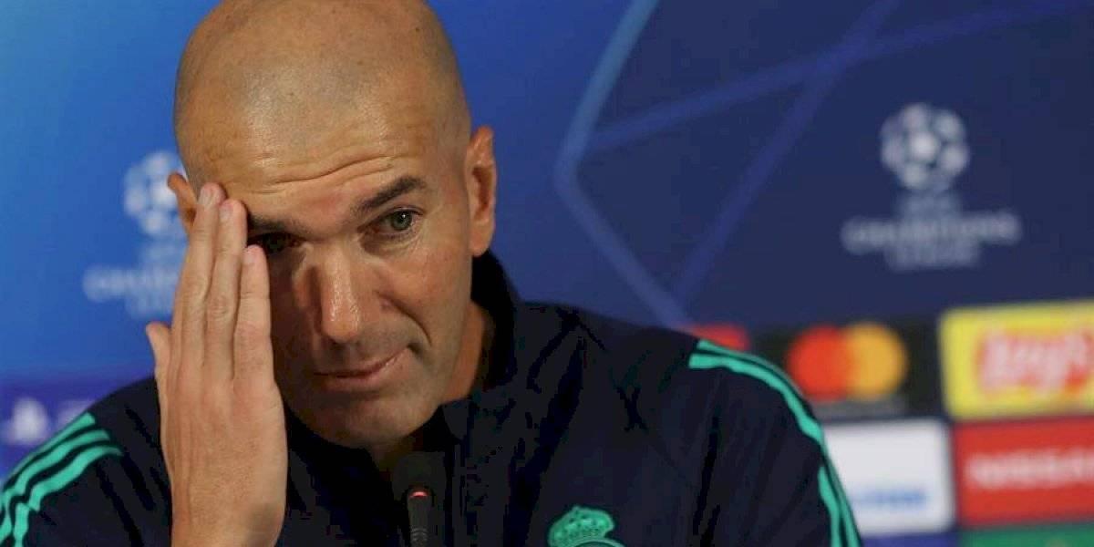 """""""No hay que señalar a nadie"""", Zidane defiende a sus jugadores"""