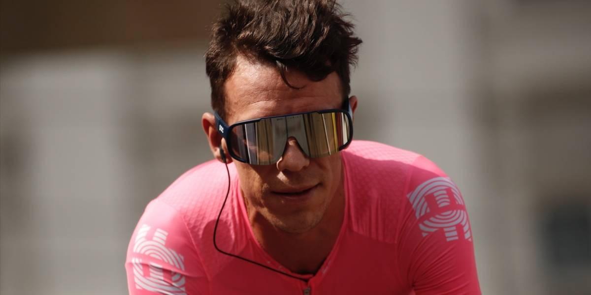 Rigoberto Urán expresó cuál es su verdadero deseo tras el accidente que sufrió en la Vuelta a España