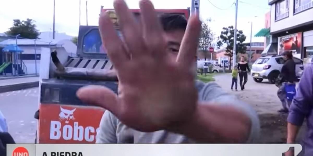 Con piedras y palos agredieron a periodista que investigaba presunta compra de votos